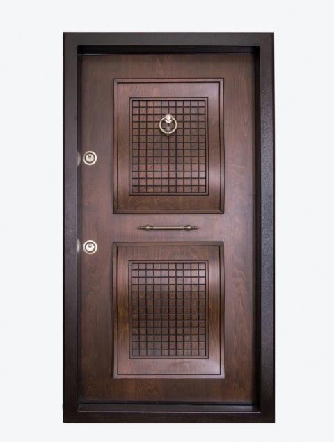 درب دوقاب برجسته لوکس